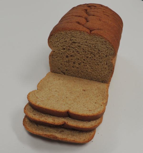 Organic 100% Stoneground Whole Wheat Bread - Sliced