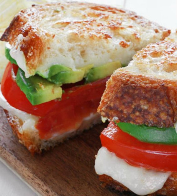 Avocado Grilled Cheese Sandwich