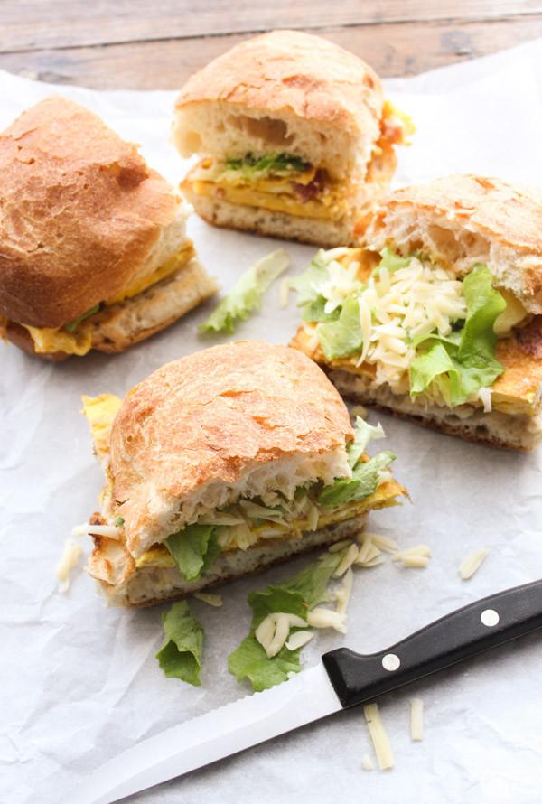 Pancetta Frittata Sandwich