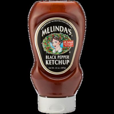 Melinda's Black Pepper Ketchup - 14 oz