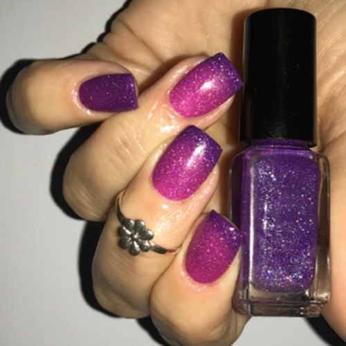 Mardi Gras (Thermal Nail Polish)