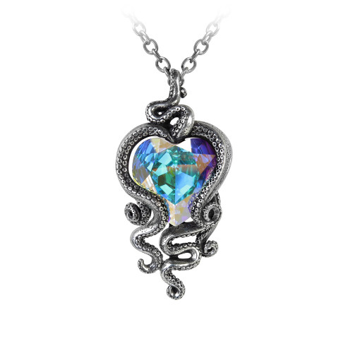 Alchemy Gothic Heart of Cthulhu Pendant