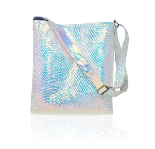 Iridescent Croc. Tote Bag