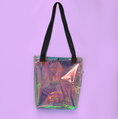 Metalia Tote Bag V2 | Iridescent Delight
