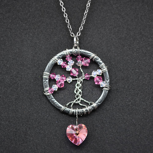 Yggdrasil Birthstone Necklace