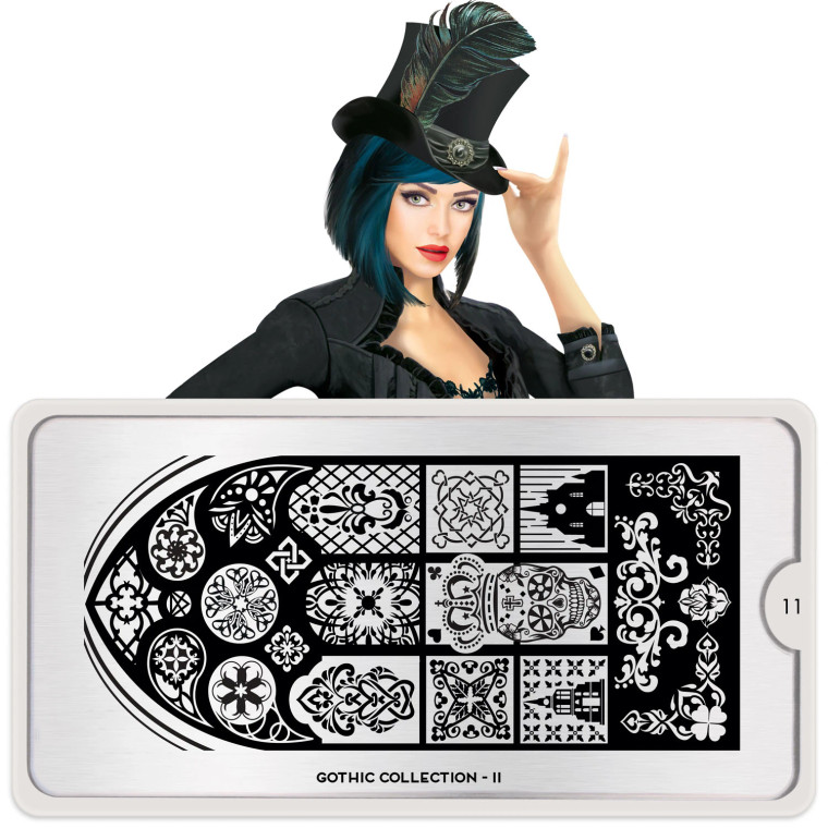 Gothic Nail Plate | 11