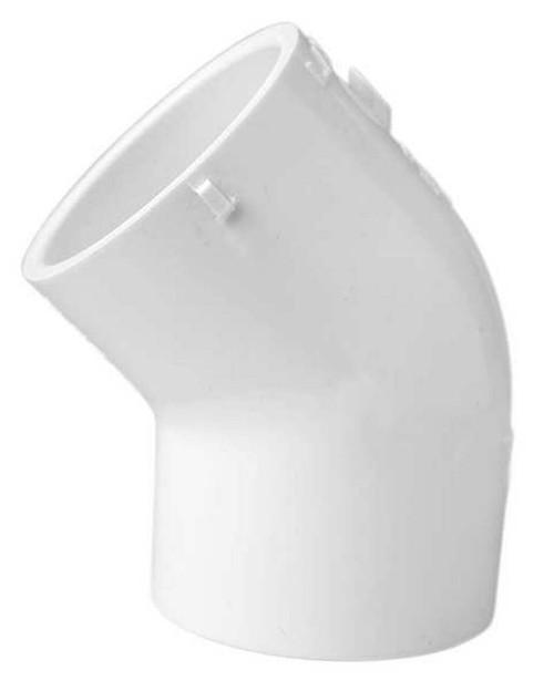 "1"" Socket PVC 45 Degree Elbow Sch 40"