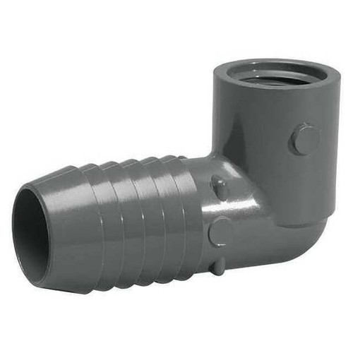 """3/4"""" Insert x 3/4"""" FPT Adapter Elbow"""