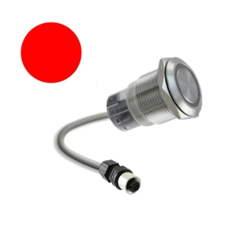 Remote Switch for Sanitizer Systems - Red Button.