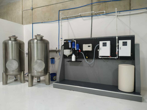 ECOLOXTECH 1200 Dual System with pH control (pH 4-6) - Generate Hypochlorous Acid (HOCl) up to 800 ppm
