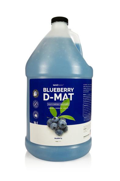Bark2Basics Blueberry D-Mat Dog Conditioner, Gallon