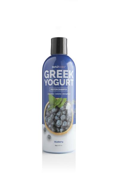 Bark2Basics Blueberry Greek Yogurt Dog Shampoo, 16 oz