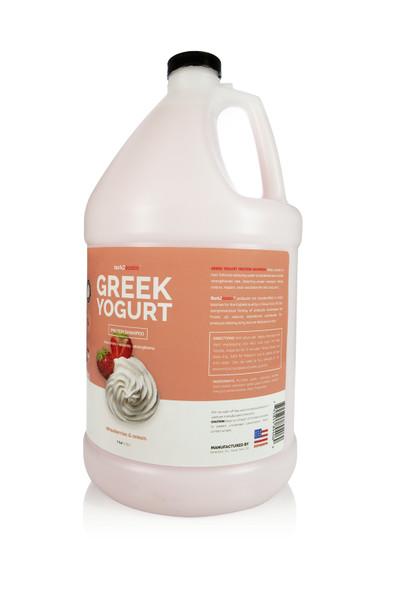 Bark2Basics Strawberry Greek Yogurt Dog Shampoo, Gallon