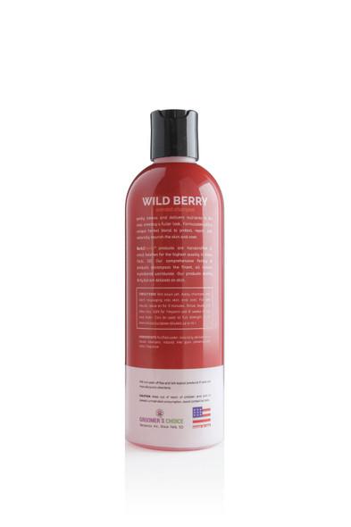 Bark2Basics Wild Berry Dog Shampoo, 16 oz