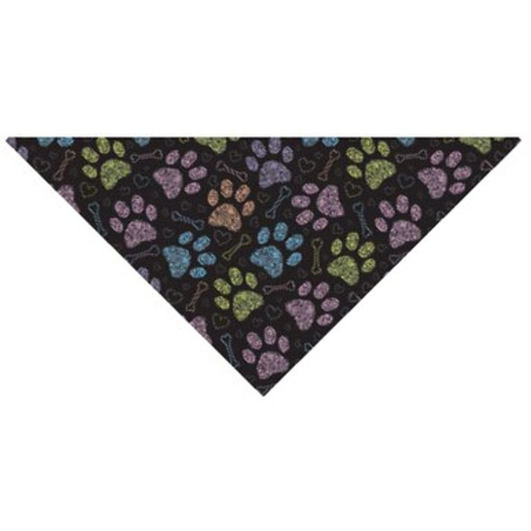 Colorful Paws Dog Bandana