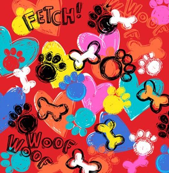 Fetch Dog Bandana