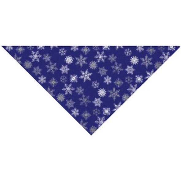 Glitter Snowflakes Dog Bandana
