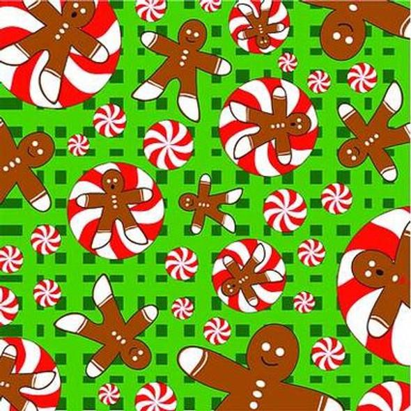 Gingerbread Dog Bandana