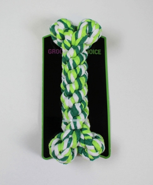 "Groomer's Choice Braided Rope Bone 8"""
