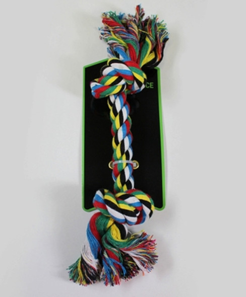 """Groomer's Choice Braided Rope Double Knot 12"""""""