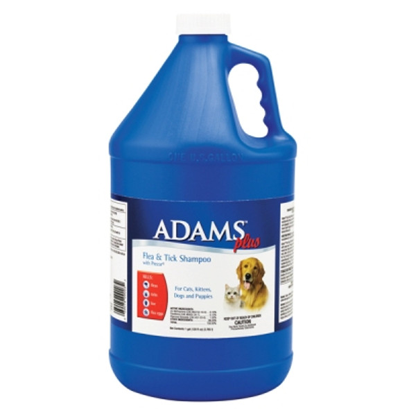 Adams Plus Flea & Tick Shampoo with Precor