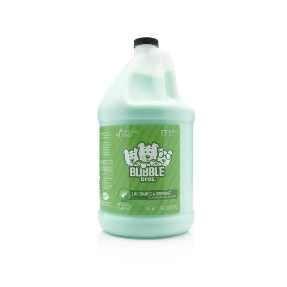 Bubble Bros. 2 in 1 Dog Shampoo & Conditioner, Gallon