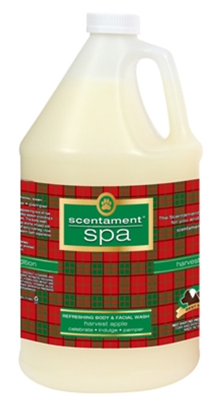 Best Shot Scentament Spa Harvest Apple Body & Face Wash Gallon