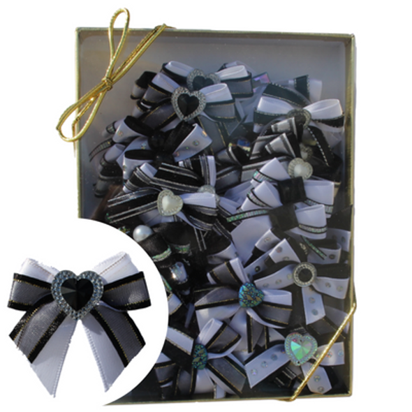 Shimmer Delights Bows, 50 Count