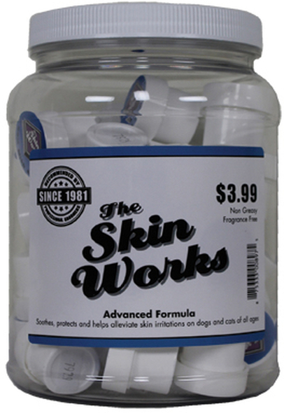 The Coat Handler Skin Works 40 Pack Retail Jar