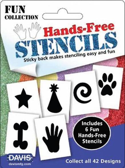 Davis Hands Free Stencils - Fun Pack