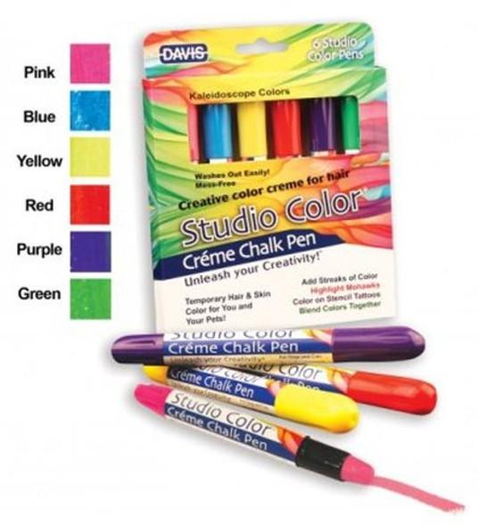 Davis Studio Color Crème Chalk Pens 6 Pack