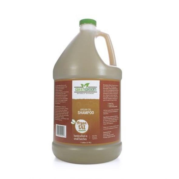 Green Groom Argan Oil Dog Shampoo, Gallon