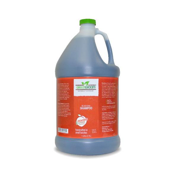 Green Groom Black Dog Shampoo, Gallon