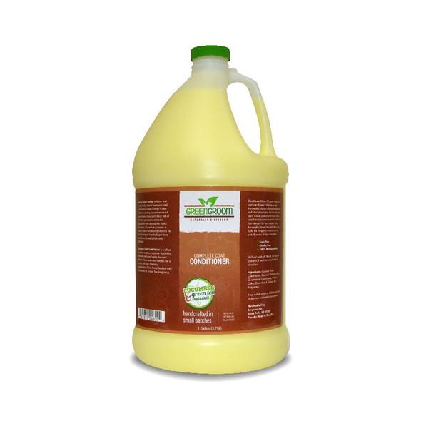 Green Groom Coat Dog Conditioner, Gallon
