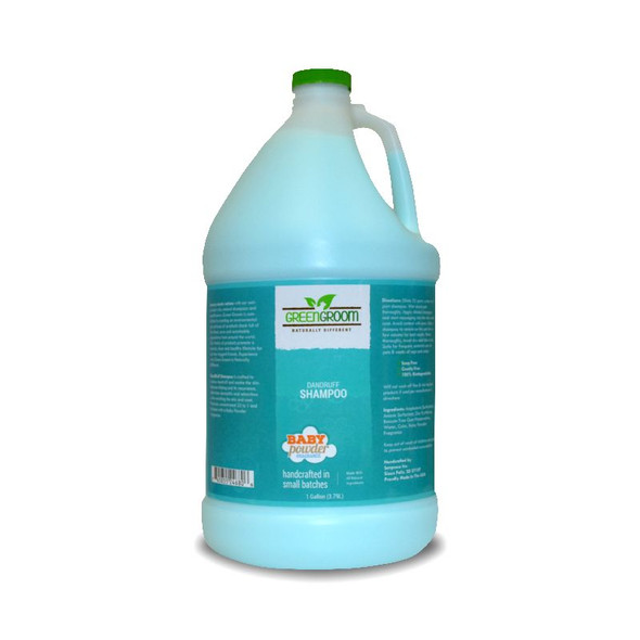 Green Groom DandRUFF Dog Shampoo, Gallon