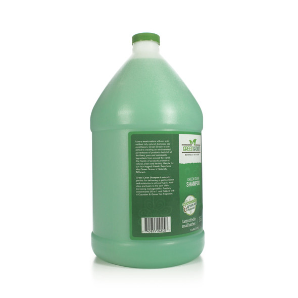 Green Groom Green Clean Dog Shampoo, Gallon