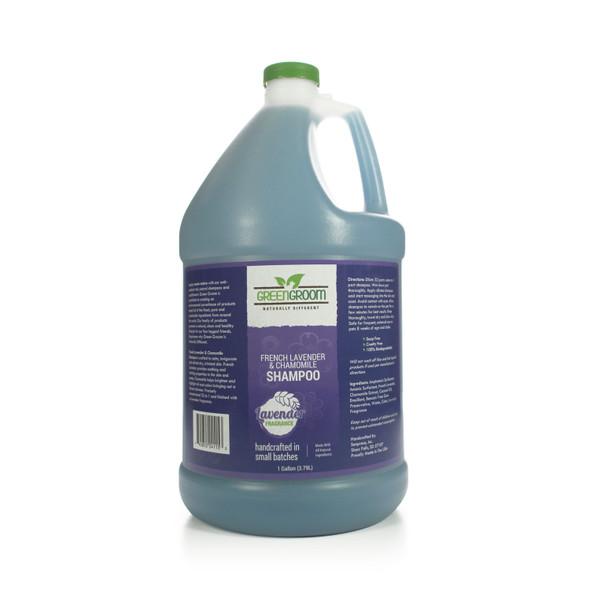 Green Groom French Lavender & Chamomile Dog Shampoo, Gallon