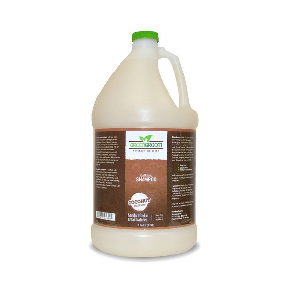Green Groom Oatmeal Dog Shampoo, Gallon