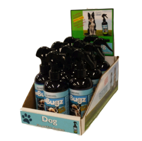 NoBugz Repellant for Dogs Counter Top Display