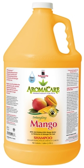 AromaCare Detangling Mango Dog & Puppy Shampoo Gallon