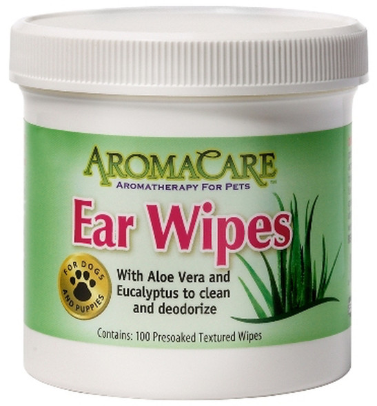 AromaCare Ear Wipes, 100 Count