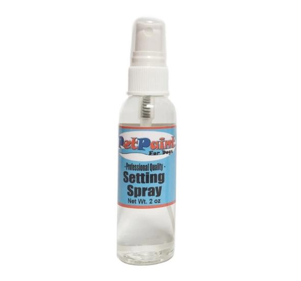 Pet Paint Setting Spray 2oz bottle