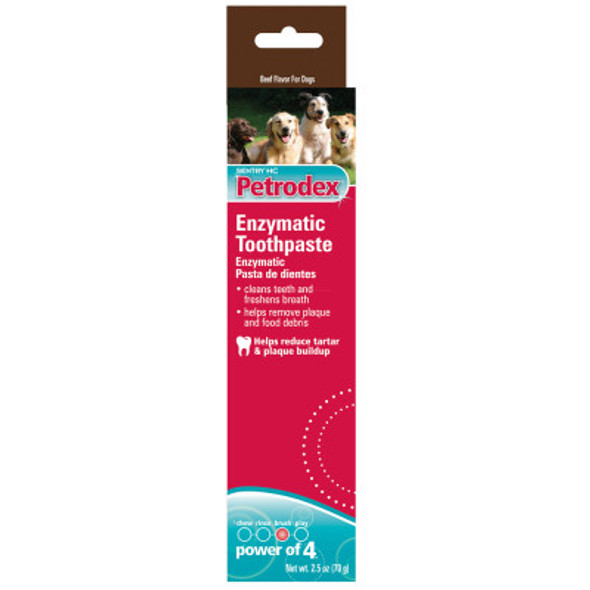 Petrodex Enzymatic Toothpaste Poultry Flavor