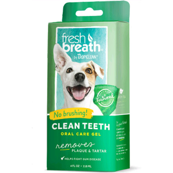 Fresh Breath Oral Care Gel for Dogs & Cats, 4 oz