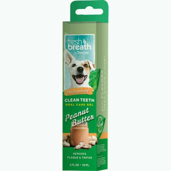 Fresh Breath Oral Care Gel Peanut Butter, 2 oz