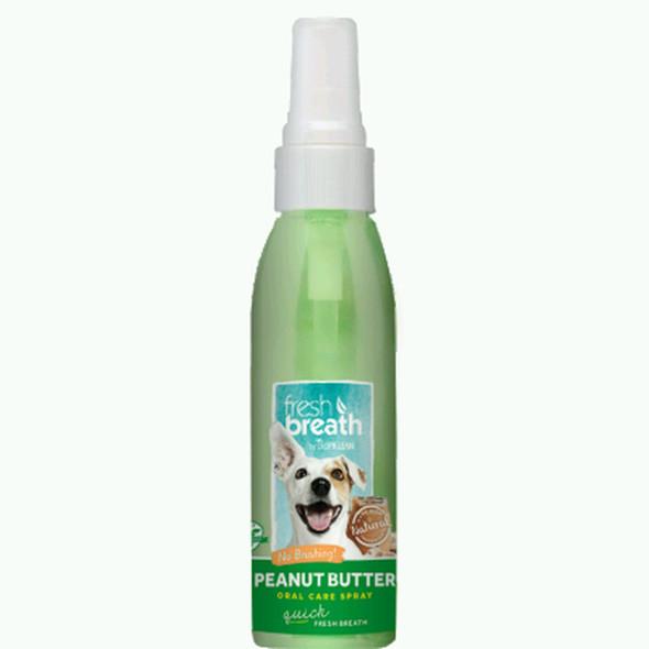 Fresh Breath Oral Care Spray Peanut Butter