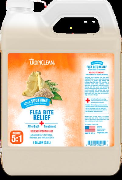 Tropiclean Natural Flea & Tick Shampoo Maximum Strength for Dogs, Gallon