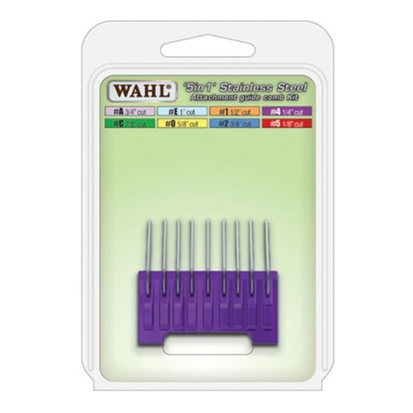 Wahl 5 in 1 Stainless Steel Attachment Comb #4