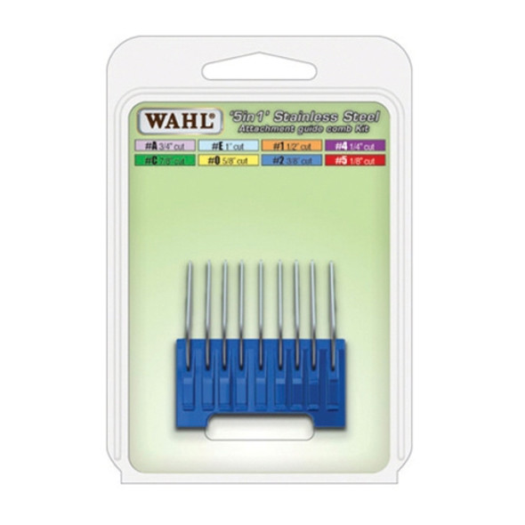 Wahl 5 in 1 Stainless Steel Attachment Comb #2