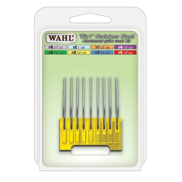 Wahl 5 in 1 Stainless Steel Attachment Comb #0